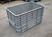 Rigid plastic box pallet