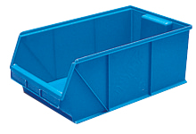STACKING STORAGE  TRAY - # 16C light weight   plastic boxes bins trays