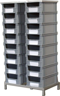STACKING TRAY CASSE  INDUSTRIALE H8  plastic boxes